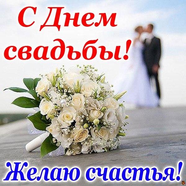 Поздравление девушки с днем свадьбы своими словами 859