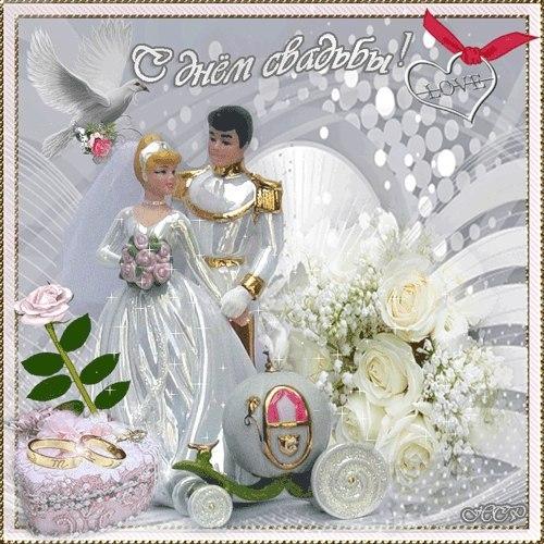 Поздравление на свадьбу в позе