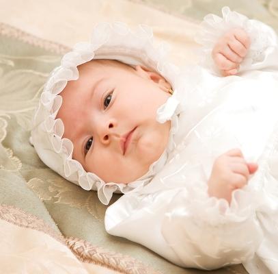 Картинка с крещением дочери